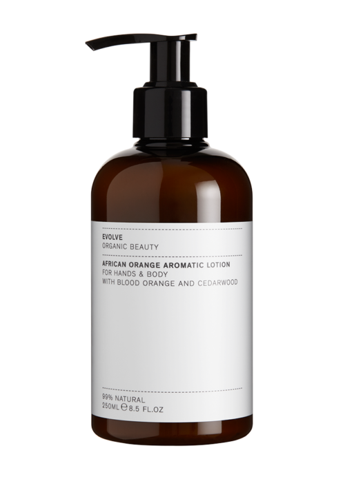 EVOLVE BEAUTY KÄTE- JA KEHAKREEM AFRICAN ORANGE 250ML