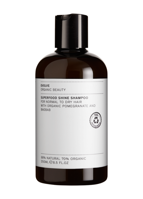 EVOLVE BEAUTY SHAMPOON SÄRA ANDEV POMEGRANATE-BAOBAB 250ML