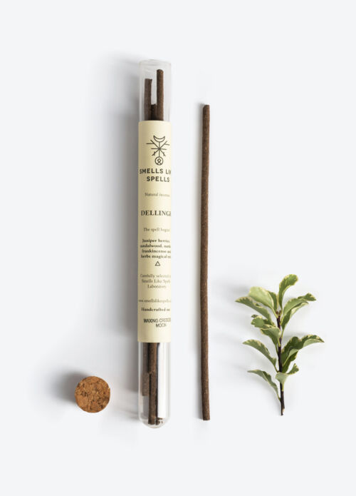 NATURAL INCENSE DELLINGR 5tk (Sandalwood, Frankincense, Juniper, Nards)