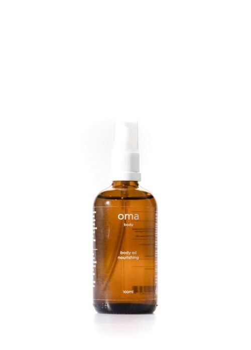 Nourishing Body Oil Chamomile & Mandarin, 100ml