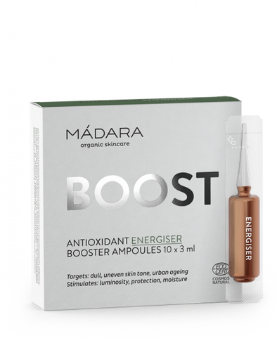 Antioxidant energiser Booster ampoules 3ml x 10tk