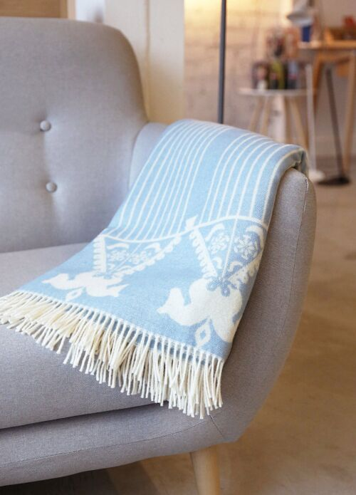 "SpindleSide kahepoolne meriino pleed ""Throw Horses"" -20%"