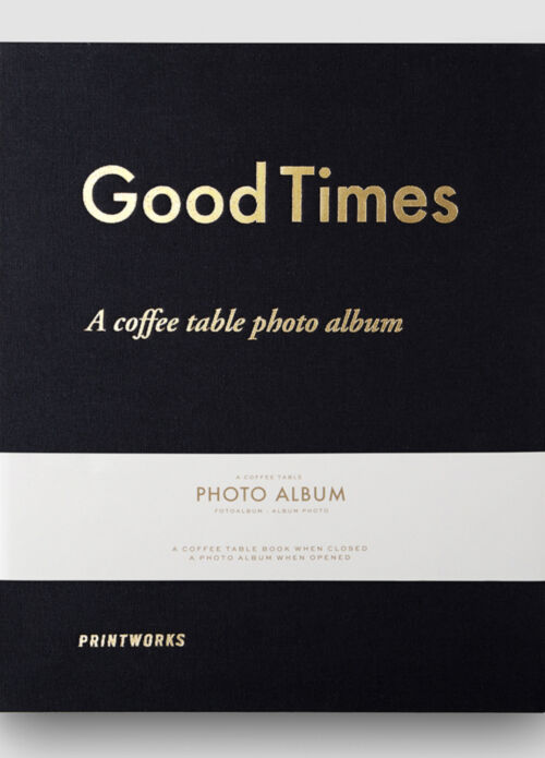 Printworks Photo album – Good Times Black